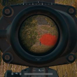 PUBG - Mk14 Sniper Kill with 4X Scope on another care package