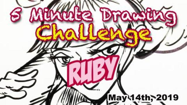 5 Minute Drawing Challenge Ruby From Planet Oz Requested