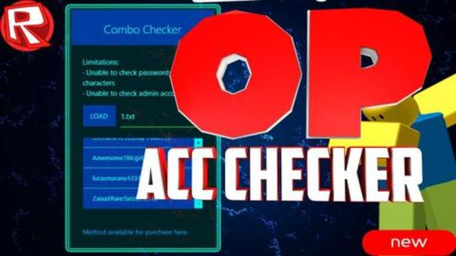 HQ ROBLOX ACCOUNT CHECKER 2018 - FREE ROBUX DOWNLOAD IN DESCRIPTION
