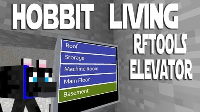 Modded Minecraft - Hobbit Living ep 11 - Making An RFTools