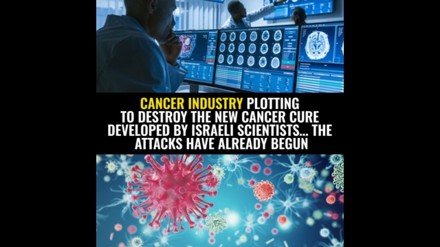 Cancer industry plotting to DESTROY the new cancer cure