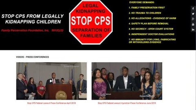 ALERT: The Real Story Behind CPS Kidnapping