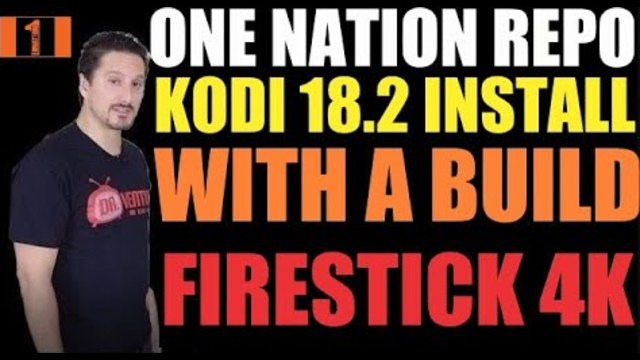 BEST NEW & FAST  KODI 18 2 BUILDS OF 2019💥ONE NATION REPO💥