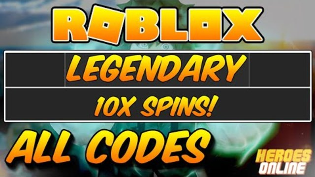 Roblox Heroes Online Epic Spin Code - All Codes For Heros Online Roblox Roblox Generator Glitch