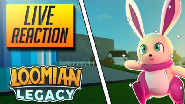 Roblox Trade Reactions I Got A Shiny Embit In My First Go Live Reaction Loomian Legacy