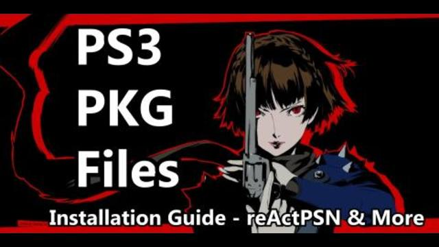 Installing PKG Files on a CFW PS3: reActPSN Guide