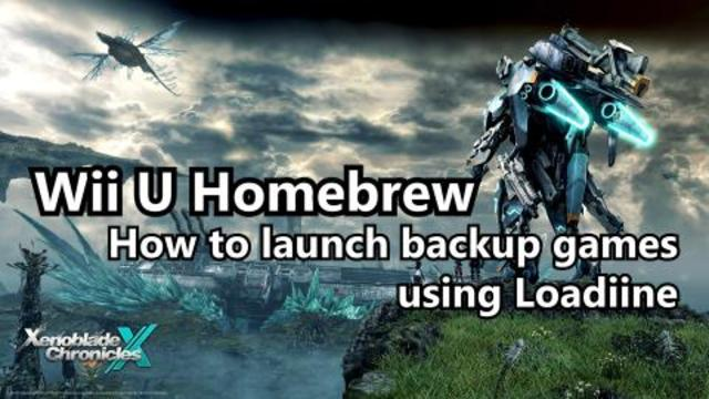 Wii U Homebrew - How to run backup games