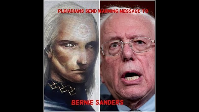 PLEIADIAN ALIEN KING PLACHACHA SENDS WARNING MESSAGE TO BERNIE