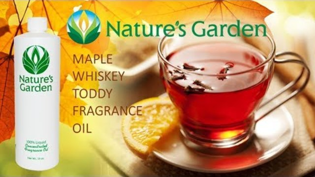 Maple Whiskey Toddy Fragrance Oil Natures Garden