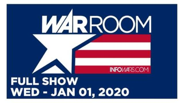 WAR ROOM (FULL SHOW) WEDNESDAY 1/1/20 • DAMANI FELDER, CALLS, 2019 REWIND, SPECIAL VACCINE REPORT