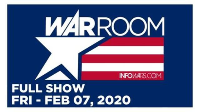 WAR ROOM (FULL SHOW) FRIDAY 2/7/20 • MCJUGGERNUGGETS – STORYFIRE . COM, MATT AHMANN, NEWS, CALLS