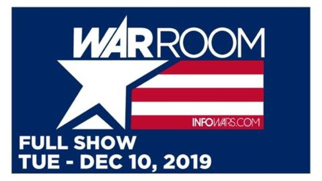 WAR ROOM (FULL SHOW) Tuesday 12/10/19 • Jesse Lee Peterson, Savanah & Rebecca, News, Calls, Reports