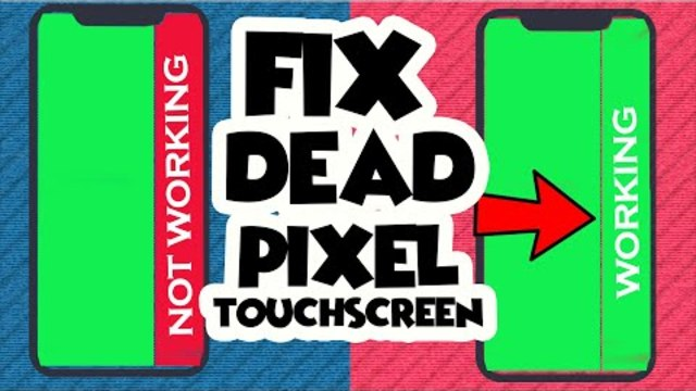 How TO Fix Dead PIXEL ZONE IN ANDROID TOUCH SCREEN PROBLEM