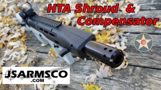 Hi Point/ HTA Muzzle Shroud\Compensator (Install and Quick