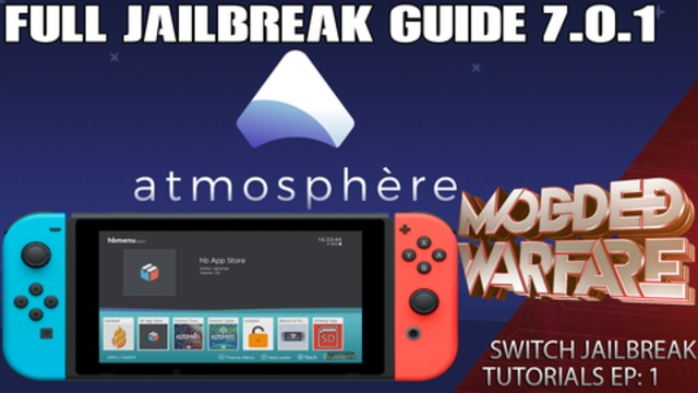 Switch Tutorials #1 Full Jailbreak Guide Using Atmosphere CFW