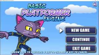 Basic Platformer Engine for construct 2 and 3 IOS Export now