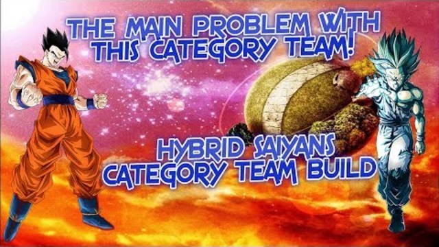 THE MAIN PROBLEM WITH THIS CATEGORY TEAM! Hybrid Saiyans Category