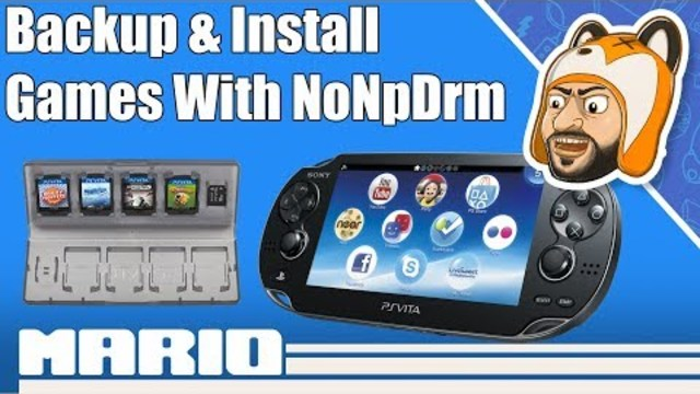 How to Backup & Install PS Vita Games with NoNpDrm | Vita
