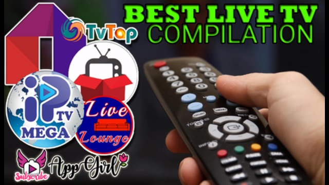 BEST LIVE TV COMPILATION - 5 in 1 - TV Tap, Mobdro, RedBox TV and Others