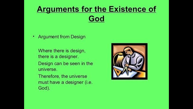 a controversial argument on the existence of god The ontological argument for the existence of god is a classical christian argument that contends that the very concept of god logically and necessarily demands existence.