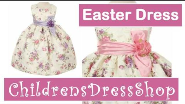23ebd96e9e0 New Style CC529 Flower Girl Easter Dresses