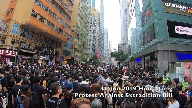 hong kong protest - 3 часа