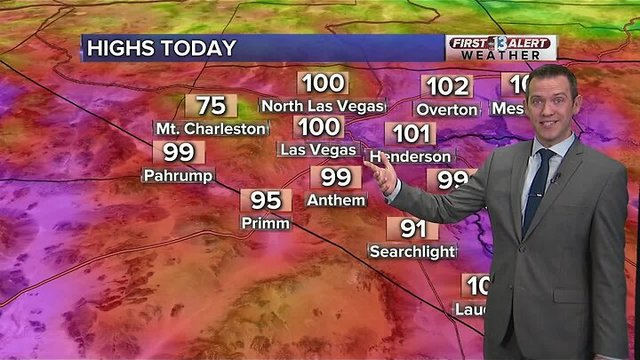 13 First Alert Las Vegas weather updated