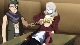 minato uses sage mode against madara sage of six paths to save