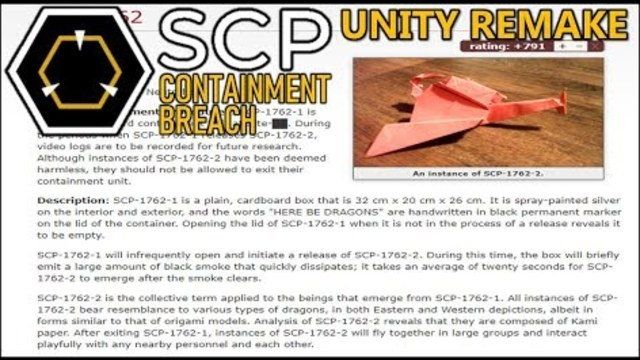 Reading HERE BE DRAGONS + 0 6 End   SCP: Containment Breach