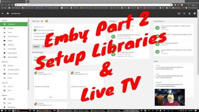 Emby Change Channel Number
