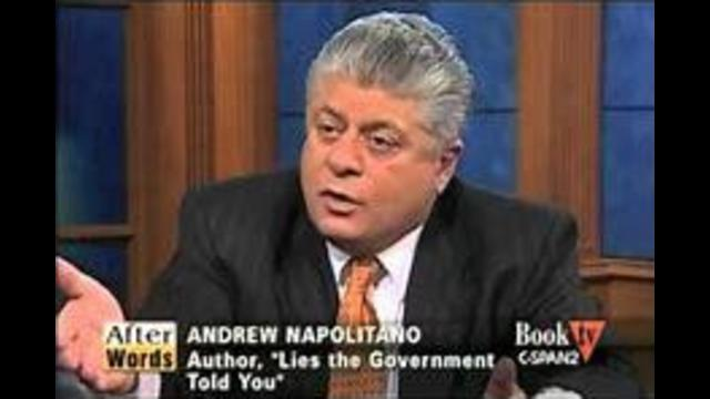 Lies The Government Told You Andrew Napolitano Ralph Nader