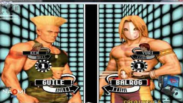 Sega Naomi Arcade Emulation Capcom vs SNK Millennium Fight 2000 2019